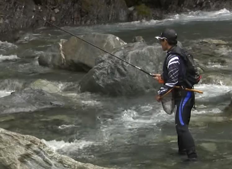 渓流餌釣り入門